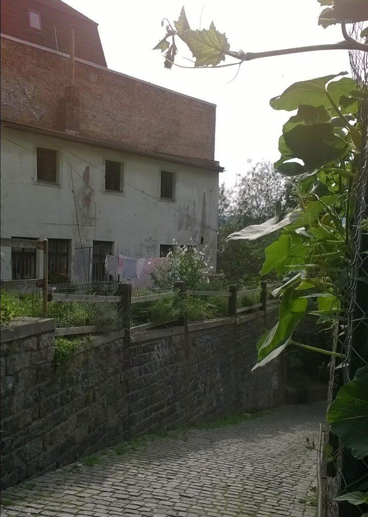 Zpustlý-dům-vedle-Pražské-ulice-v-Liberci-Foto